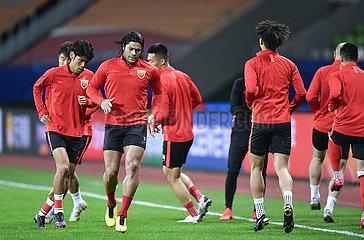 (SP)CHINA-JIANGSU-SUZHOU-FOOTBALL-CSL-JIANGSU SUNING VS SHANGHAI SIPG (CN)
