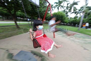 MYANMAR-YANGON-COVID-19-DAILY LIFE