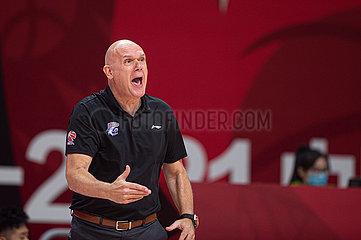 (SP)CHINA-ZHUJI-BASKETBALL-CBA LEAGUE-GUANGDONG VS SHANGHAI (CN)