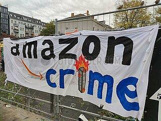 Protest gegen Amazon
