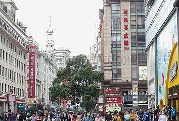 CHINA-SHANGHAI-CHINESE altehrwürdiges RESTAURANT (CN)