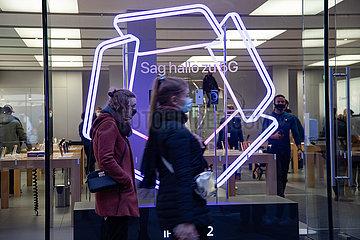 Neues iPhone: Massen stürmen den Apple Store