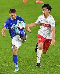 (SP)GERMANY-GELSENKIRCHEN-FOOTBALL-BUNDESLIGA-SCHALKE 04 VS STUTTGART