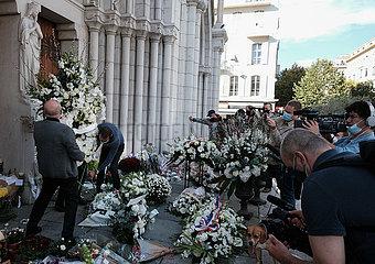 FRANKREICH-NICE-MESSER ATTACK-MOURNING