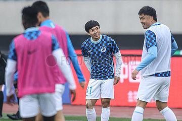 (SP)CHINA-DALIAN-FOOTBALL-CSL-TEDA VS DALIAN(CN)