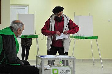 GEORGIA-TBILISI-PARLIAMENTARY ELECTION-VOTE