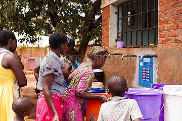 MALAWI-LILONGWE-INTELLIGENT TAP-WASSERVERSORGUNG SOLUTION
