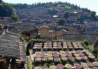 CHINA-FUJIAN-Dorf-Landschaft (CN)