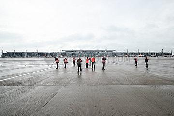 DEUTSCHLAND-SCHOENEFELD-Flughafen Berlin Brandenburg
