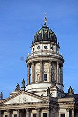 Berlin  Deutschland  Kuppel des Franzoesischen Doms auf dem Gendarmenmarkt