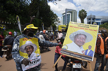UGANDA-KAMPALA-Präsidentschafts-Kandidaten-NOMINIERUNGS