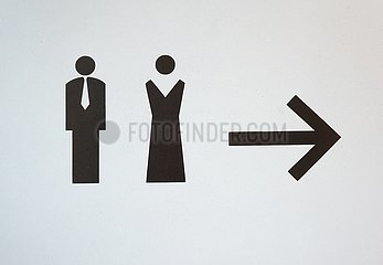 Besuchertoilette in der Elbphilharmonie | visitor toilet in the Elbphilharmonie