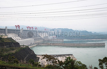 CHINA-THREE GORGES PROJECT-Completion-voll funktionsfähige (CN)