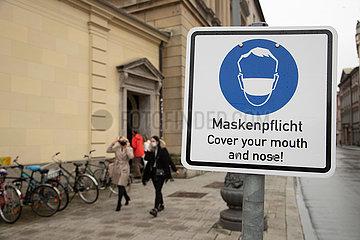 Mini-Lockdown: Maskenpflicht