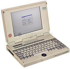 Notebook Siemens Nixdorf mit Online Banking HypoVereinsbank  1999