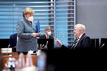 Angela Merkel  Horst Seehofer  Kabinett