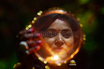 INDIEN-Agartala-Karwa Chauth FESTIVAL