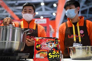 CHINA-Shanghai-CIIE-FOOD (CN)