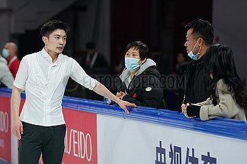 (SP) CHINA-CHONGQING-ISU EISKUNSTLAUF GRAND PRIX CUP China (CN)