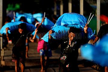 MYANMAR-YANGON-ALLTAG MYANMAR-YANGON-ALLTAG