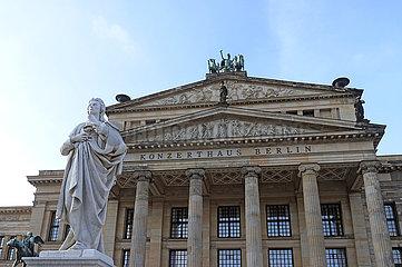 Berlin  Deutschland  Konzerthaus Berlin auf dem Gendarmenmarkt