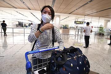 SINGAPUR-chinesisches Festland BESUCHER-ENTRY SINGAPUR-chinesisches Festland BESUCHER-ENTRY