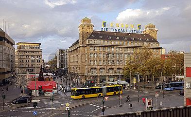 Stadtansicht Essen  Essen  Nordrhein-Westfalen  Deutschland