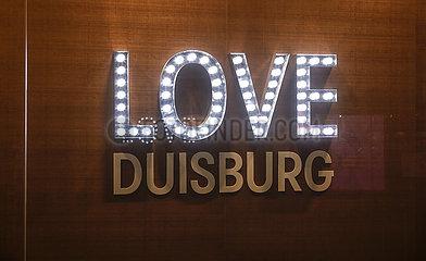 Love Duisburg  Duisburg  Nordrhein-Westfalen  Deutschland
