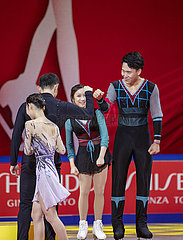 (SP) CHINA-CHONGQING-ISU EISKUNSTLAUF GRAND PRIX CUP von China-TAG 2 (CN)