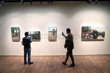 ÄGYPTEN-KAIRO-Malerei-Ausstellung-BEAUTY OF CHINA ÄGYPTEN-KAIRO-Malerei-Ausstellung-BEAUTY OF CHINA