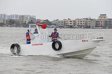 CHINA-HAINAN-HAIKOU-MARINE Rettungsteam (CN)
