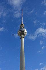 Berlin  Deutschland  der Berliner Fernsehturm