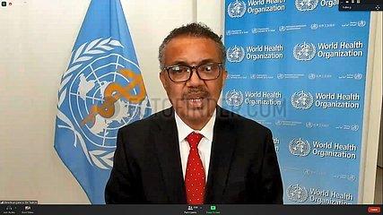 DIE SCHWEIZ GENEVA-WHO-73rd Weltgesundheitsversammlung-GENERALDIREKTOR