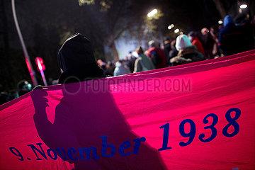 9. November  Mahnmal Levetzowstrasse