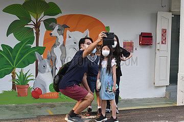 SINGAPUR-ARTS-NACHBARSCHAFT