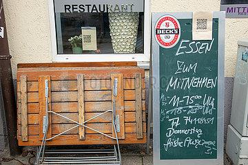 Zwangsschließung: Gastronomie in der Krise