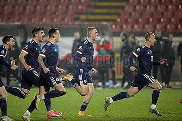 (SP) SERBIEN-BELGRAD FOOTBALL-UEFA EURO2020-Qualifier-SERBIEN VS SCOTLAND