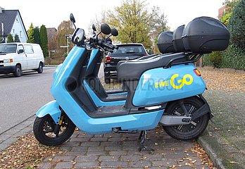 E-Roller Sharing EWE GO   E-Scooter Sharing EWE GO