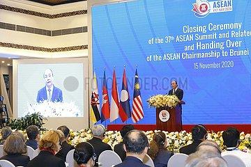 VIETNAM-HANOI-ASEAN-Gipfel Sitzungen im Zusammenhang mit-ABSCHLUSS