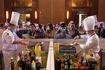 CHINA-SICHUAN-Meishan-Kochkunst Wettbewerb (CN)
