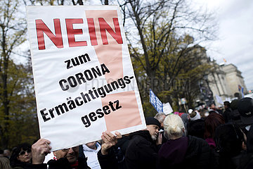 Coronavirus - Protest Against Restrictions