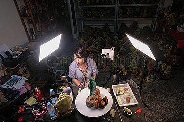 (ZhejiangPictorial) CHINA-ZHEJIANG-Qingtian-STEINSCHNITZEN (CN)