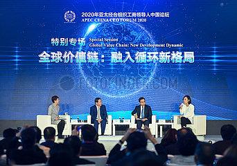 CHINA-PEKING APEC CHINA CEO FORUM 2020 (CN)