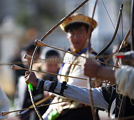 (InTibet) CHINA-TIBET-Nyingchi-Gongbo NEW YEAR-FEST-BOGEN (CN)