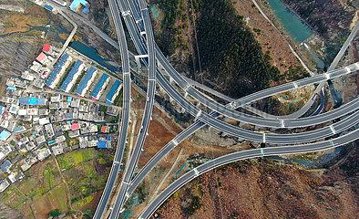 CHINA-HENAN-infrastruktur EXPRESSWAY-CONSTRUCTION (CN)