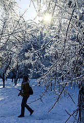 CHINA-JILIN-CHANGCHUN-SNOW-ALLTAG (CN) CHINA-JILIN-CHANGCHUN-SNOW-ALLTAG (CN) CHINA-JILIN-CHANGCHUN-SNOW-ALLTAG (CN)