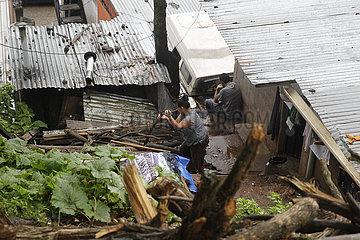 HONDURAS-TEGUCIGALPA-tropischer Sturm IOTA
