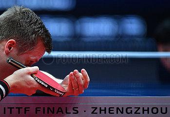 (SP) CHINA-ZHENGZHOU-TABLE TENNIS-ITTF-FINALS-MEN sondert (CN)