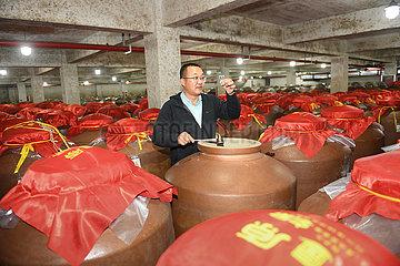 CHINA-ZHEJIANG-ZHUJI-baijiu-ALKOHOL-PRODUCTION-MARKETING (CN)