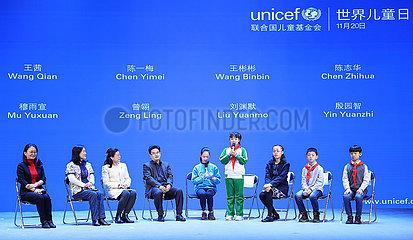 CHINA Beijing-WORLD Kindertages ACTIVITY (CN)